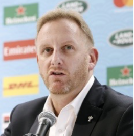 Alan Gilpin, COO, World Rugby